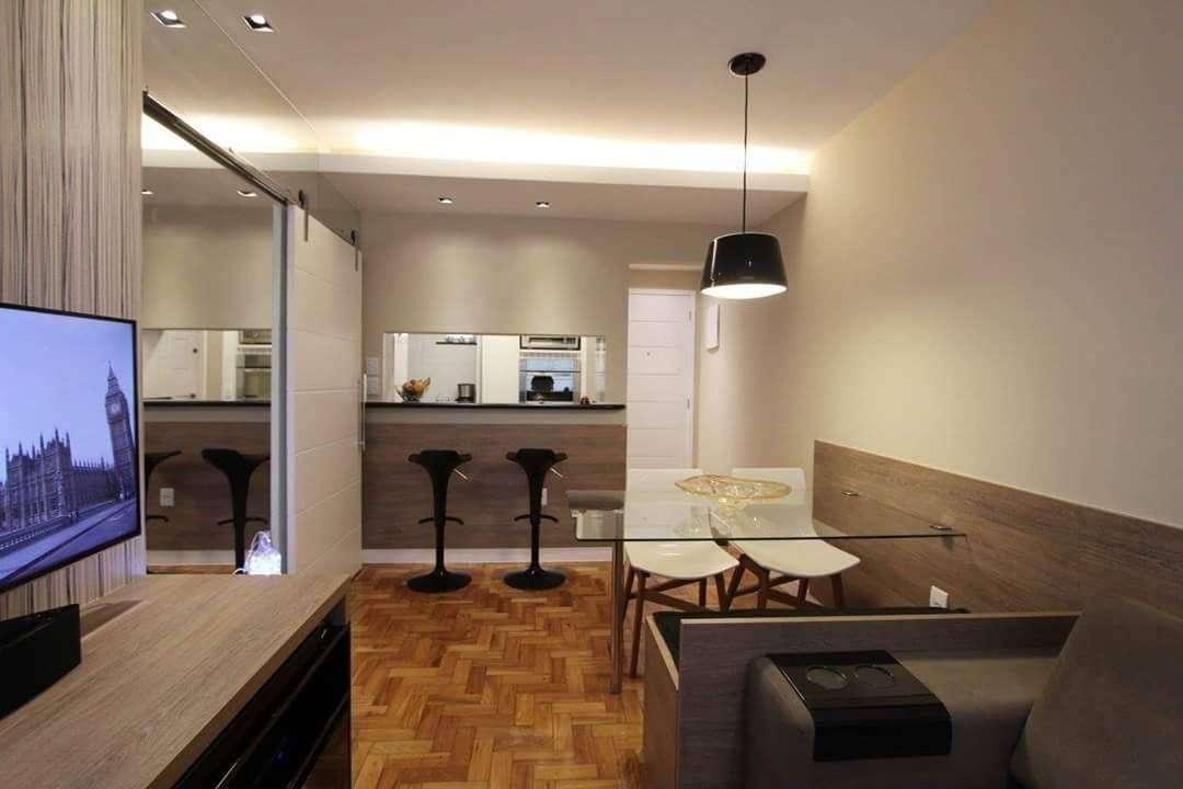 apartamento montado no centro