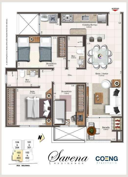 Savena Residence - Palhoça