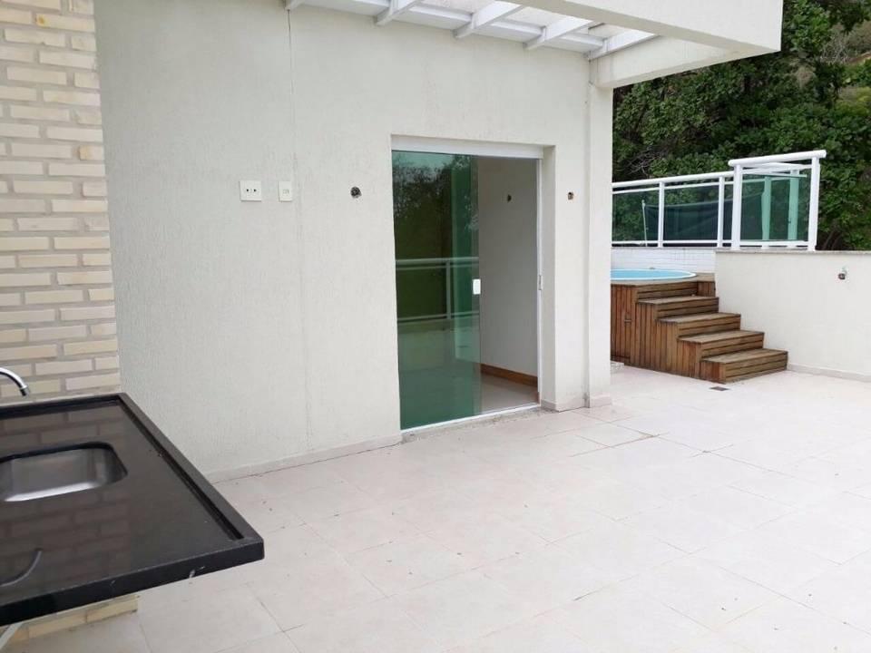 1ªloc. Casa Cond. 5 Suítes, Terraço Gourmet, Piscina e 3 Vagas